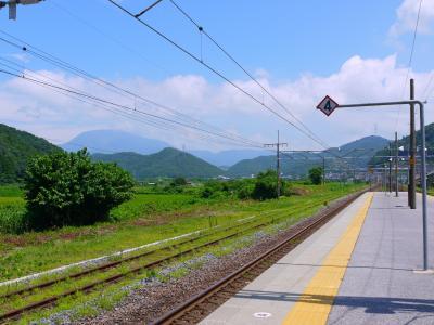 2017年 夏の18きっぷ 【予定外の3回目・前半】 できるだけ東海道本線は通らないルートで帰りたい。(太多線経由、醒ヶ井で寄り道)
