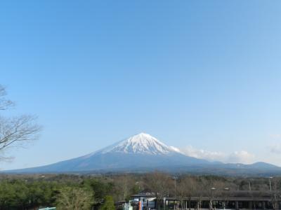 道の駅「なるさわ」~夕食は「小作」でほうとう♪◆2016年4月/静岡&山梨で富士山を愛でる旅《その6》