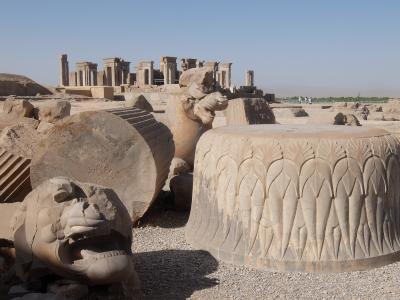 イラン2017・・・(4)ペルセポリス遺跡は「がっかり世界遺産」か?イラン文明の精華か?