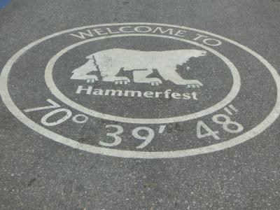 ハンメルフェストへ寄り道。