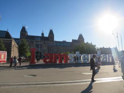 欧州鉄道旅2017☆2徒歩でアムステルダム美術館巡り