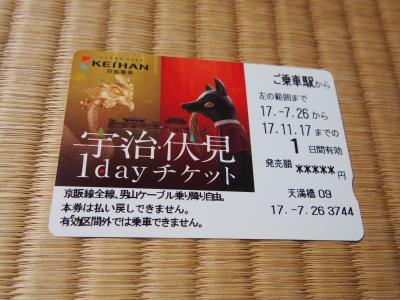 虹の苔寺・明光院と京都タワー 宇治伏見1dayチケットを利用してお得に日帰り京都