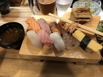 青春18きっぷで姫路で一番有名な格安寿司店へ、そして明石で・・・