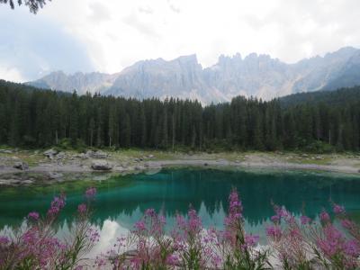 世界遺産ドロミテとアルプス展望ルート10日間の旅⑩ポリドイ峠~カナツェイ~カレッツア湖~ボルツァーノ迄