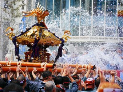 """東京・深川八幡祭""""水掛け祭2017""""~三年に一度の五十三基の連合渡御を訪れて"""