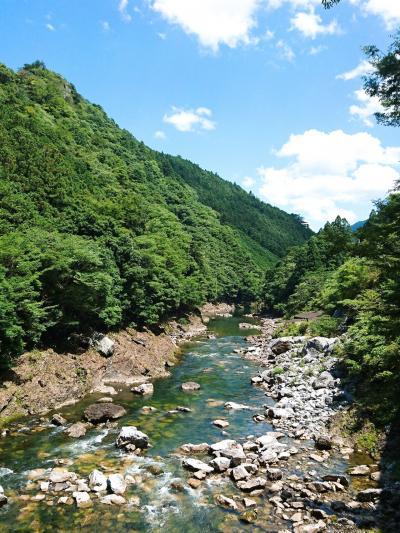 奈良県川上村/蜻蛉(せいれい)の滝と不動窟鍾乳洞