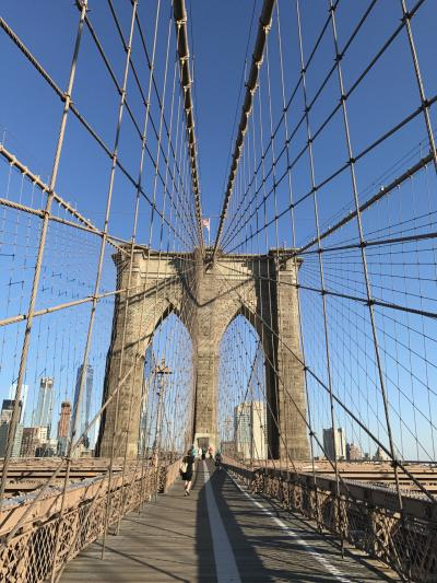 JALファーストクラスで行くニューヨークは突然に④[念願のブルックリン橋ウォーク・トップオブザロックと昼夜2回のエンパイヤーステートビルからの眺望・サラベスでのランチとメトロポリタン美術館で絵画鑑賞♪]