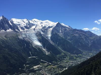 【スイス横断旅行+ミラノ】② 絶賛おすすめ!  シャモニー 「ル・プレヴァン」展望台からのハイキング