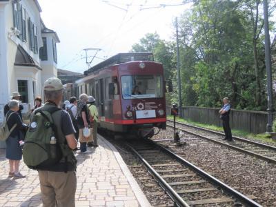 世界遺産ドロミテとアルプス展望ルート10日間の旅⑪レノン高原鉄道に乗る
