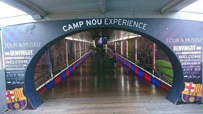 バルセロナ カンプノウ ツアー CAMP NOU EXPERIENCE