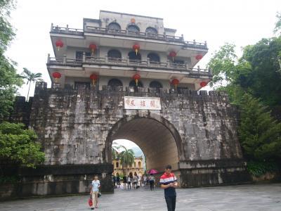 友誼関。ベトナムから中越国境を越えて中国へプチ旅行。友誼関への道。トラブルいっぱい発生 !!!