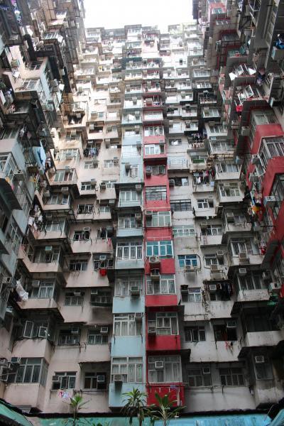 香港写真一人旅 超密集住宅編