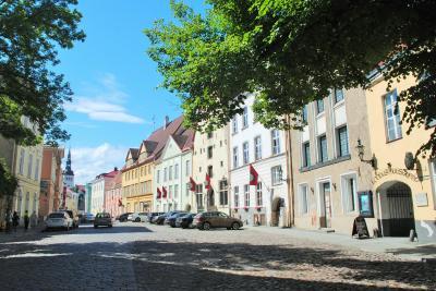 エストニアへ! その6 首都タリン旧市街の西側からプラプラ北へ歩きました。
