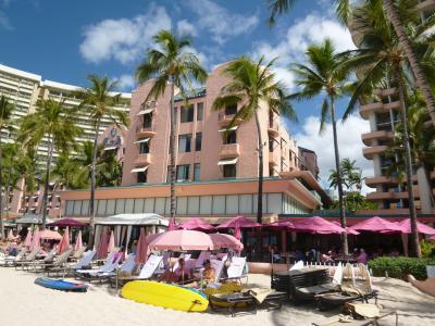 ロイヤルハワイアンホテルで、ゆったり過ごすハワイの休日★