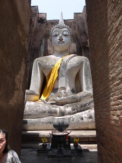 タイ訪問記7 「やっとやって来た憧れのスコータイ遺跡」なかなか行けなかったスコータイ2日目
