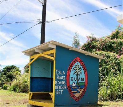 2017息子と二人の男旅 Third time in Guam