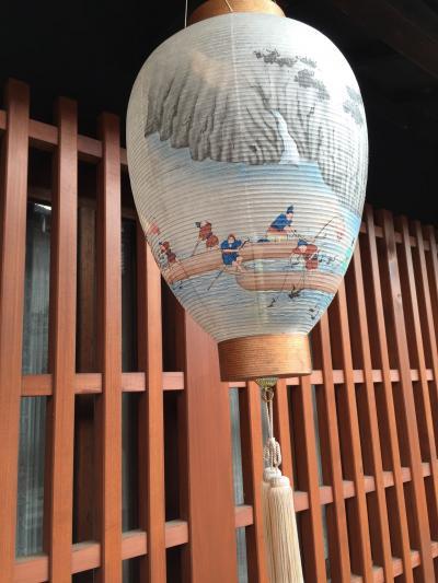 長良川温泉十八楼、鵜飼の漁火は遠くにあり
