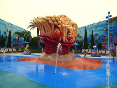 3世代でフロリダ④ アート・オブ・アニメーションでの滞在とホテルのプール遊び