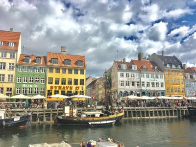 【1】デンマーク拠点に北欧3泊6日・夏休暇ひとり旅 1日目・バンコク乗継でコペンハーゲン到着、市内観光。