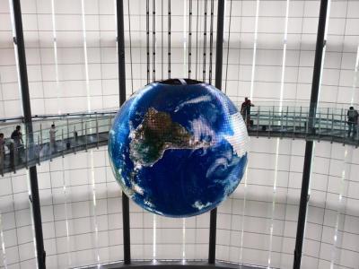 2017年夏休み!:日本科学未来館(National Museum of Emerging Science and Innovation (Miraikan ))に行く!家族3人で)