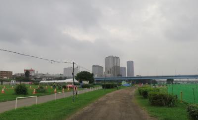 多摩川花火大会!