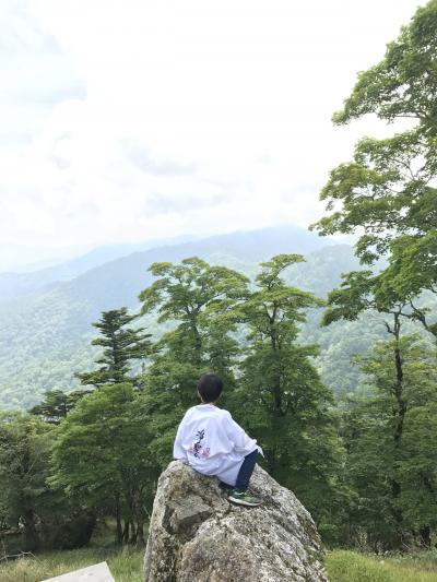 大峰山  女人禁制  大峯奥駈道 に修行へ(長男8歳、次男6歳)