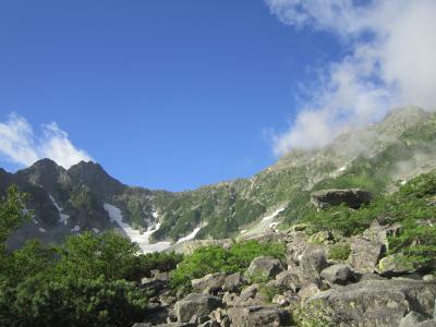 今年の夏休みは奥穂高岳へ(3泊4日)