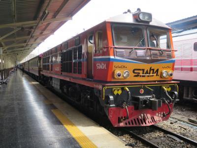 マレー半島縦断鉄道の旅(2:【乗り鉄】タイ国鉄45列車で一路マレーシア国境へ編)