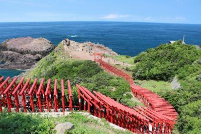 長門の絶景海岸線めぐりとプーチン大統領も泊まった湯本温泉(天気がいいと日本海はとてもきれいです)