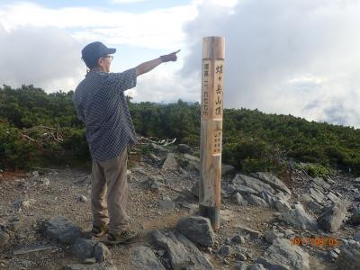 【山行記録21】~槍ヶ岳・穂高連峰の展望台~蝶ヶ岳を登る!