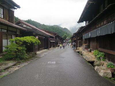 木曽路はすべて山の中・・・を実感した旅。