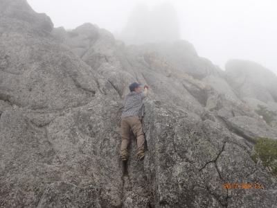 【山行記録22】~南アルプスの鳳凰三山をゆったり縦走する~