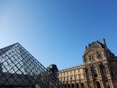 初めてのパリ&モンサンミシェル 5日目 パリ市内観光(ルーヴル美術館・オランジュリー美術館・エッフェル塔)