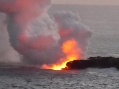 2017年サマーバケーション、今年は8度目のハワイ島10日間!!(*^-^*)*5日目パート3!今回のハワイ島・初挑戦は自転車でカラパナの溶岩流を見に行く!!目の当たりにし感動!!o(^-^)o【完成版】