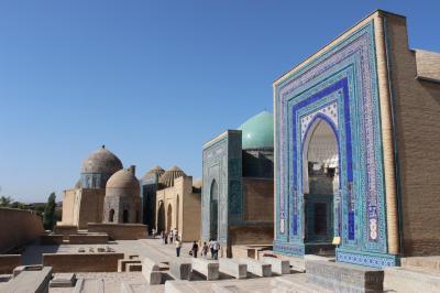 シルクロードの交易路 ウズベキスタン