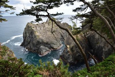 東京からの友人を案内して地元を知る旅1日目、一関・猊鼻渓と大船渡・碁石海岸