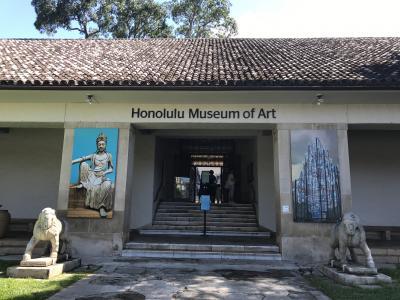 3世代8人ハワイ旅行4日目 ホノルル美術館