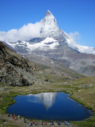 2017年7月 スイス 5日目 その3 マッターホルンを見ながらローデンボーデンから1駅ハイキング