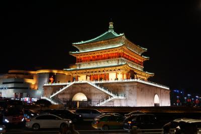 夏の中国西安3泊4日。1日目(出発~到着)