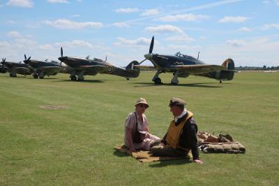 2017 英国ミリタリー紀行 ② FLYING REGENDS航空ショー 第二次世界大戦プロペラ機乱舞ショー