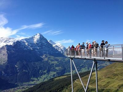 3世代夏休みスイスの旅 <vol.2>  3日目グリンデルワルド~4日目ツェルマット