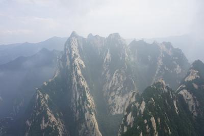 夏の中国西安3泊4日。2日目前編(華山、長空桟道)