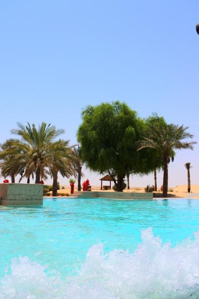 UAE・ドバイ 初めての中東は大都会から砂漠のオアシスへ! @バブ・アル・シャムス・デザートリゾート&スパ