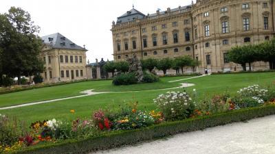 ヴュルツブルク・・憧れのミンネゼンガーと夢のようなレジデンツの庭園