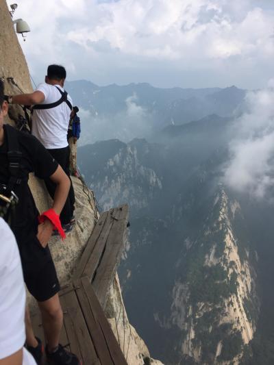 夏の中国西安3泊4日。2日目後編(華山、長空桟道)