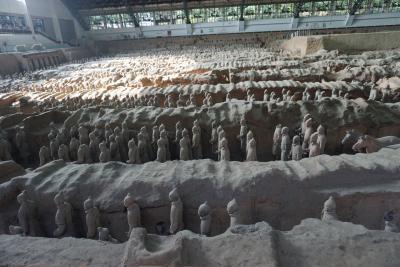 夏の中国西安3泊4日。3日目前編(秦始皇帝陵博物院、兵馬俑)