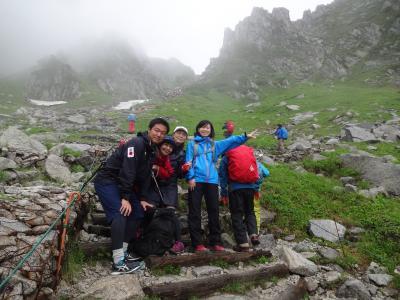昨年の上高地~の山旅のリベンジで中央アルプスの千畳敷カール出かけてきました。