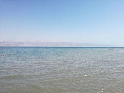 キャセイパシフィックビジネスクラスで行くヨルダン・イスラエル7日間(死海(イスラエル側))