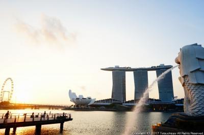 3泊4日のシンガポールの絶景写真を狙う旅