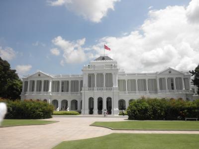 毎年恒例のシンガポール&初めてのタイ・バンコク旅行8、イスタナ訪問&帰国日編。